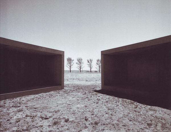 Judd - 15 betonnen werken in Marfa gemaakt op locatie