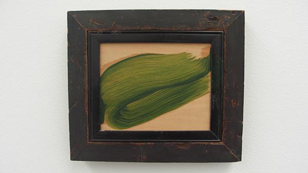 Leaf - Olieverf op hout