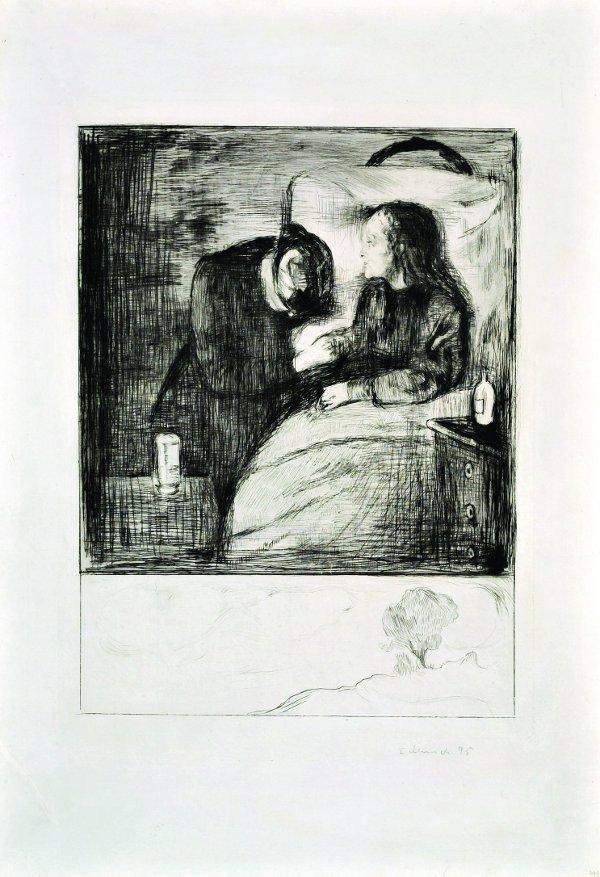 Edvard Munch, Het zieke kind, 1896