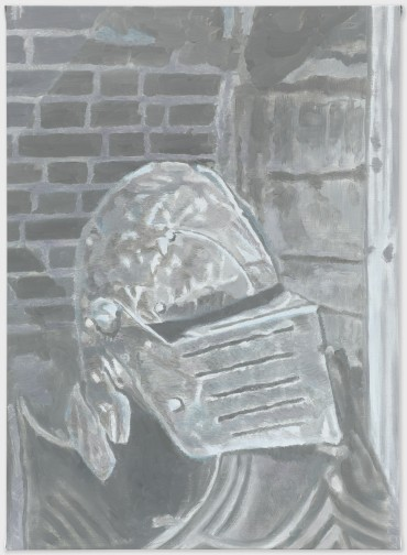 Armour - 111x80cm Olieverf op canvas
