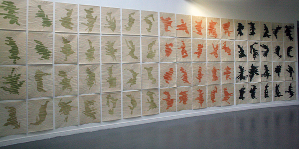 Hulya Yilmaz - Sranan liba - 50x65cm 92 tekeningen met acryl en pigment