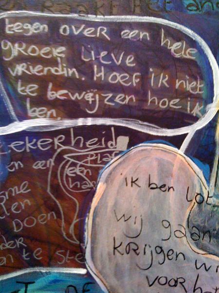 Moniek van Deventer - Lot verlaat Sodom (detail)