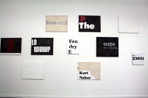 Neil Fortune - Untiteld (diverse) - Rond de 70x90cm Acrylverf op canvas