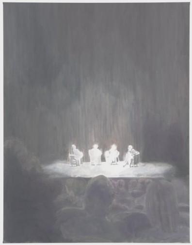 Panel - 234x182cm Olieverf op canvas