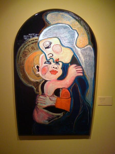 Piet Schopping - Maria met kind