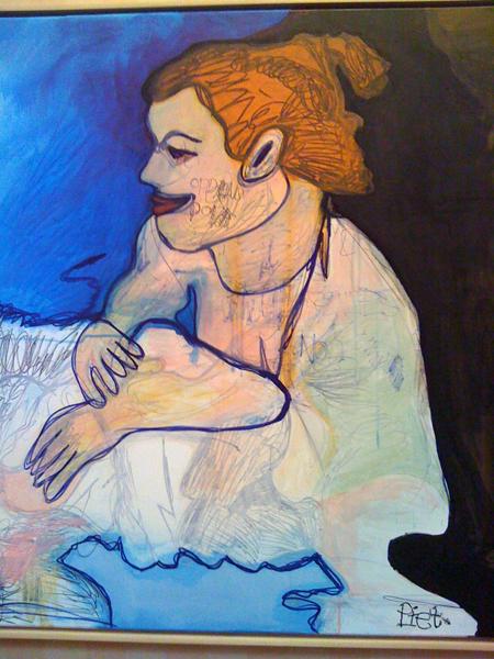 Piet Schopping - Suzanna in het bad