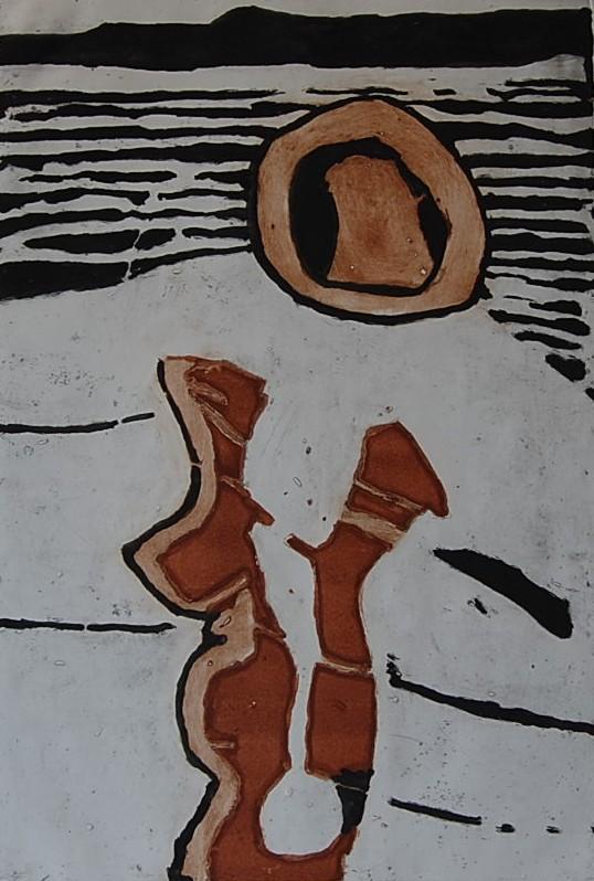 Cees Kortlang, z.t., 2006, 64,5 x 44 cm, ets