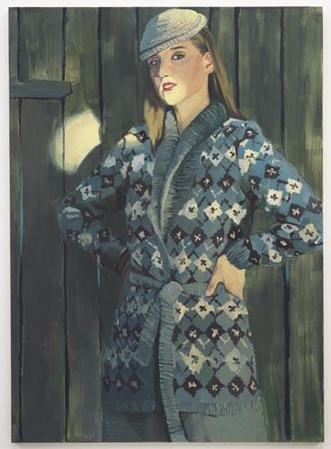 Jacket Oktawia - 195x140cm Olieverf op canvas