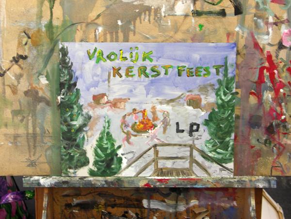 Vrolijke kerst van Lost Painters