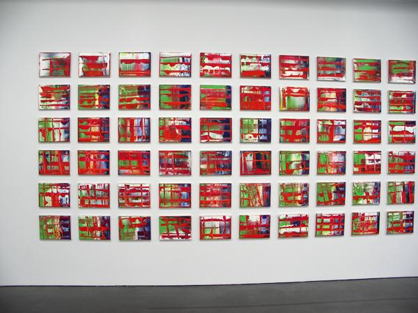 Abstraktes Bild (1-120) - 29x38cm 120-delig Olieverf op doek