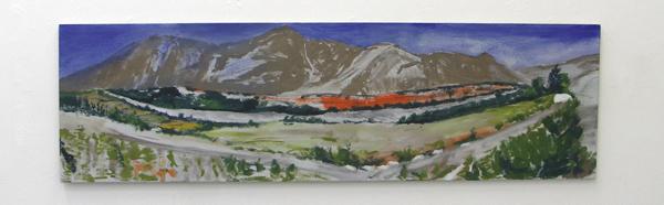 Frank van den Heuvel - Panjshir Vallei - Acrylverf op doek