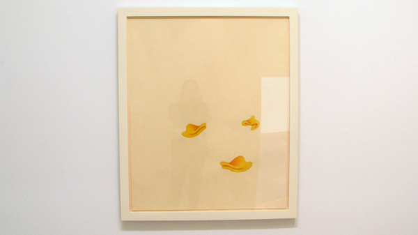 No title (three duckbills) - Inkt, kleurpotlood en grafietpotlood op papier