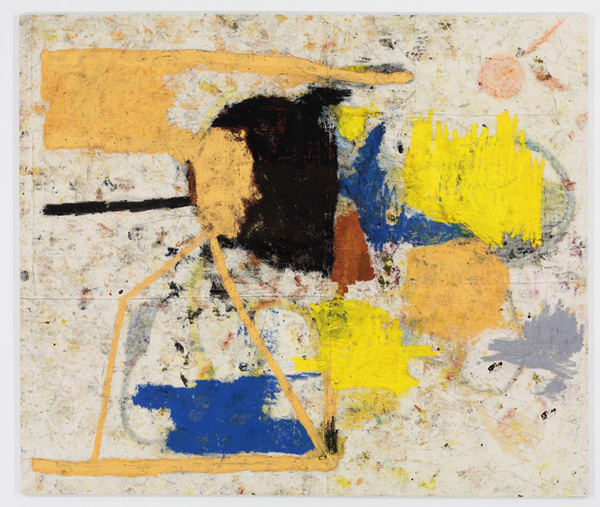Strut - 110x130inch Olieverf op canvas