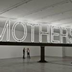 Work No 1092 - Mothers - 5x13meter Neonlicht en staal