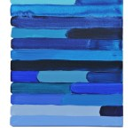 Work No 1154 - 30x25cm Acrylverf, enamel, inkt, olieverf en waterverf op canvas