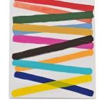 Work No 1165 - 30x25cm Acrylverf op canvas