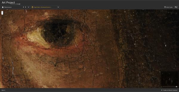 Maar dit, dit is absoluut super om echt te kunnen bestuderen hoe Rembrandt nu echt werkte. Maar dus niet alleen Rembrandt, maar nog vele andere kunstenaars.
