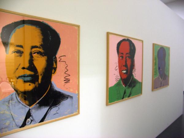 Andy Warhol - Mao Zedong - Zeefdruk op papier