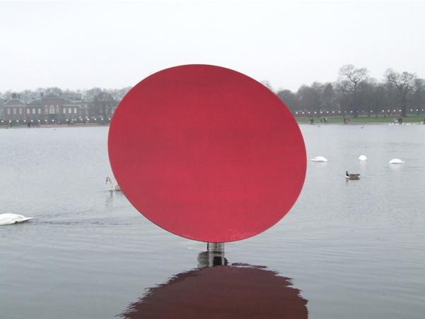 Anish Kapoor - Sky Mirror Red