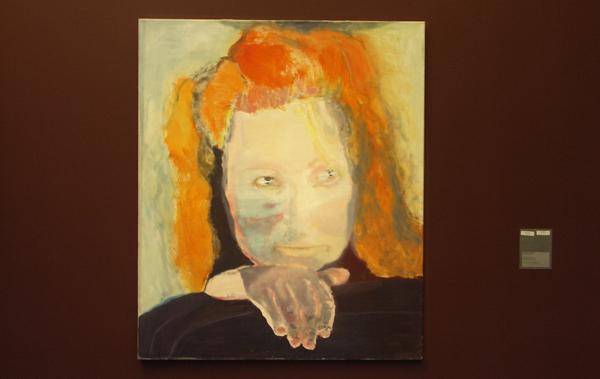 Marlene Dumas - Het Kwaad is Banaal - Olieverf op doek