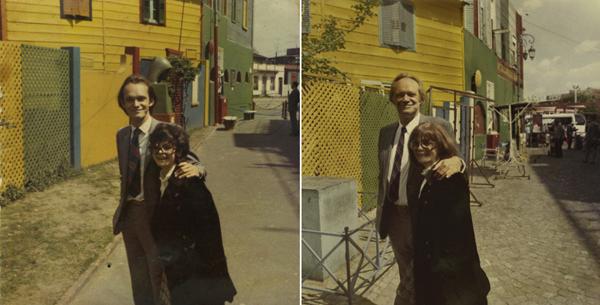 My parants in 1970 en 2010