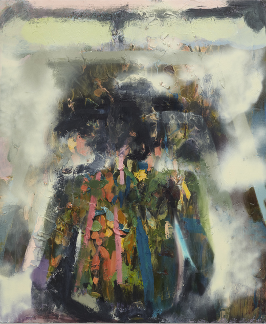 Self-Consciousness - 145x121cm Acrylverf, olie, thixotropic, alkydmedium en spuitbus op canvas