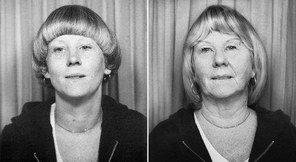 Sue in 1977 en 2010