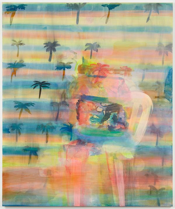 Warm Change - 184x153cm Acrylverf op canvas