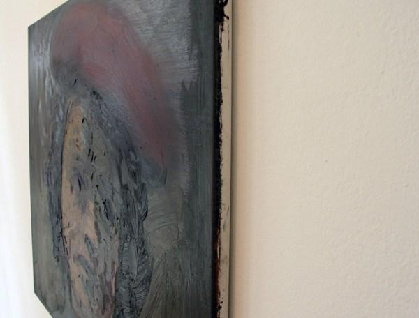 Felix Gmelin - Camera Rolling - 56x68cm Olieverf op canvas (detail)