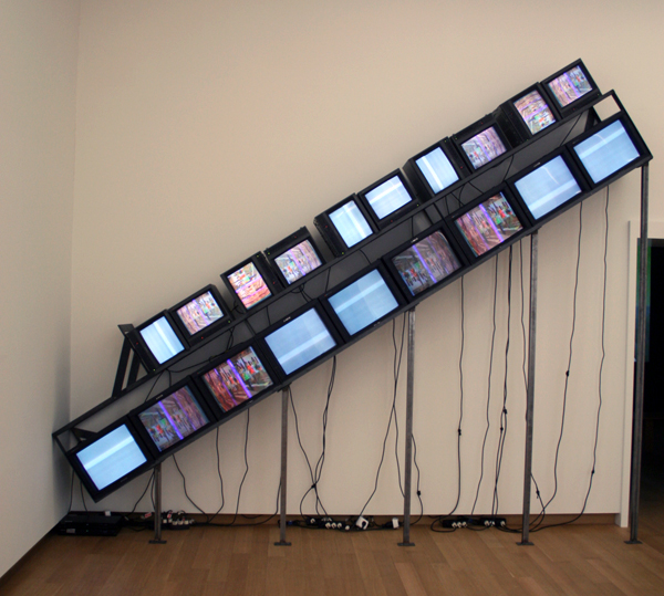 Nam June Paik- Homage to Stanley Brouwn
