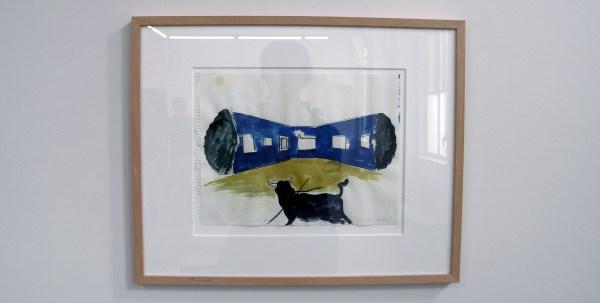 Rene Daniels - Zonder Titel (Voor Paul) - 24x32cm Waterverf op papier