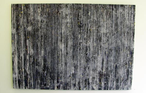 Structural Rules No.1 - 140x200cm Mixed Media op canvas