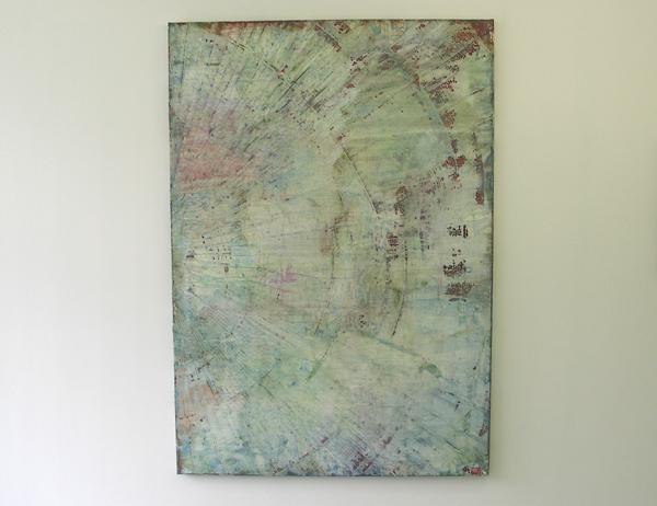 Structural Rules No.14 - 200x140cm Mixed Media op canvas