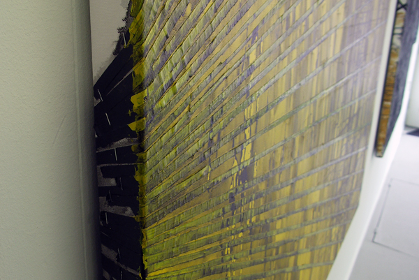 Structural Rules No.2 - 140x200cm Mixed Media op canvas (detail)