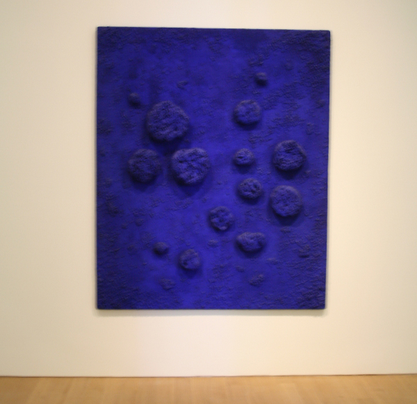 Yves Klein - L'accord bleu (RE 10)