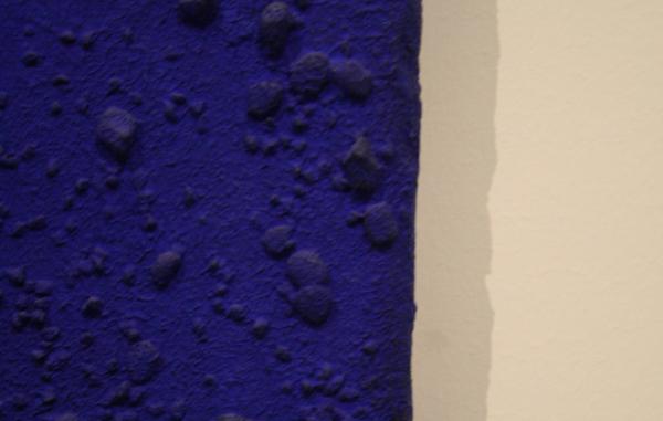 Yves Klein - L'accord bleu (RE 10)(detail)