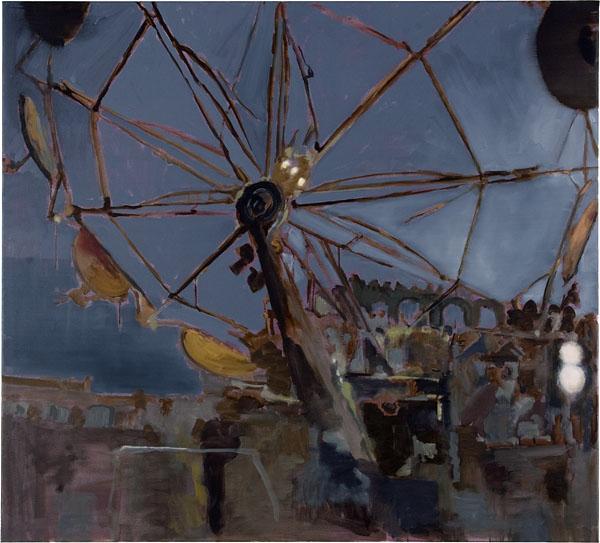 Evening - 100x110cm Olieverf op canvas