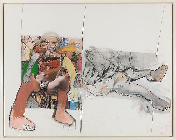 Richard Prince - Untitled (De Kooning) - 157x196cm Inkjet print en acrylverf op canvas