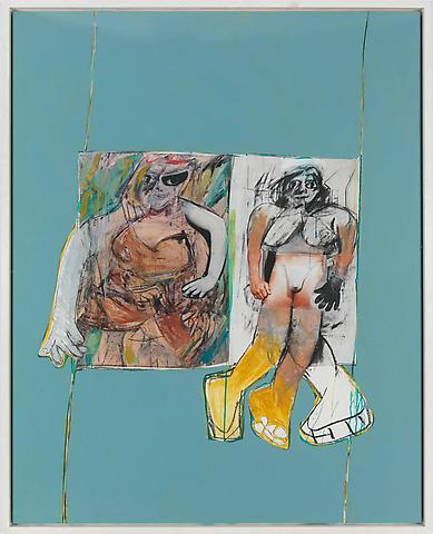 Richard Prince - Untitled (De Kooning) - 190x150cm Inkjet print en acrylverf op canvas