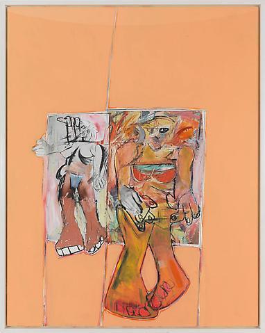Richard Prince - Untitled (De Kooning) - 197x157cm Inkjet print en acrylverf op canvas