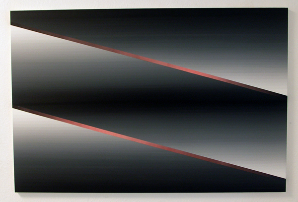 Linda Arts - Zonder Titel - 120x180cm Olieverf en lakken op doek