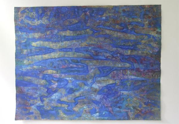Reinoud van Vught - 140175 - 140x175cm Acryl op papier