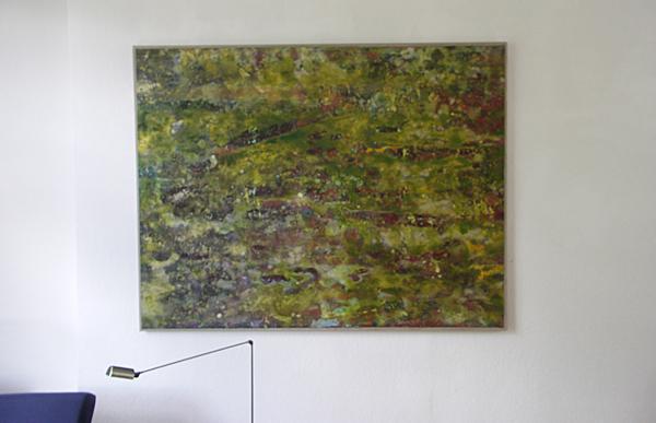 Reinoud van Vugt - 140180 - 140x180cm Olieverf en acrylverf op papier