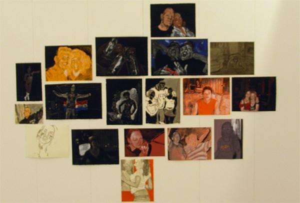 Stijn Peeters - NL-serie, studie in rood-wit-blauw en oranje