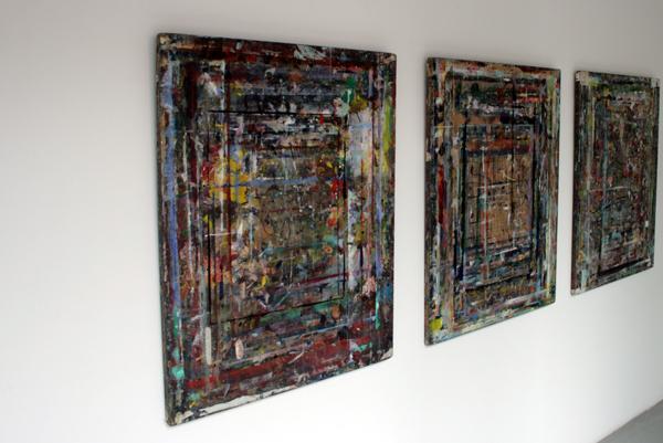 Eric van der Kooij - drieluik van een luie schilder