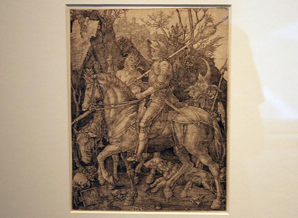 Albrecht Dürer - Ridder Dood en Duivel