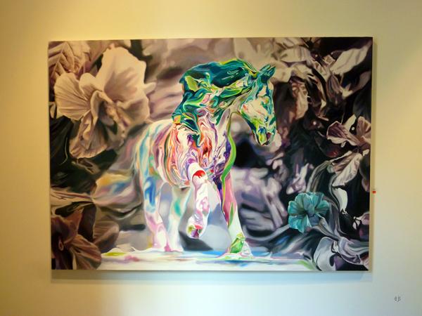 Jesus Angel Bordetas - Chimera 7 - Olieverf op canvas