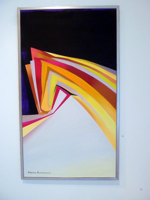 Sinikka Kurkinen - By Seven Horses - Olieverf op canvas