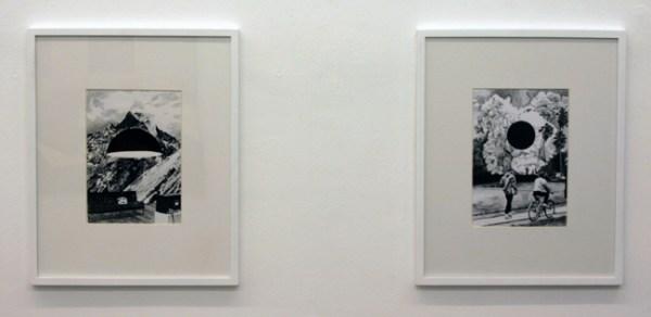 Thijs Zweers - Honolulu & Mountain View - 50x40cm Grafiet op papier