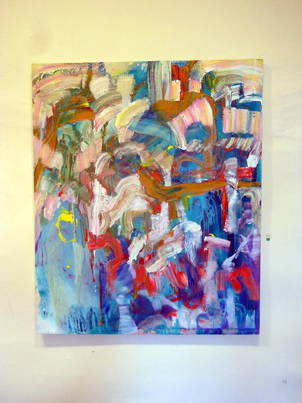 Ville Laaksonen - With you About Happiness - Olie en acrylverf op doek